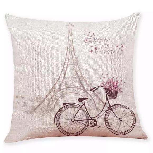 Other - Pillow Cover BonJour Paris